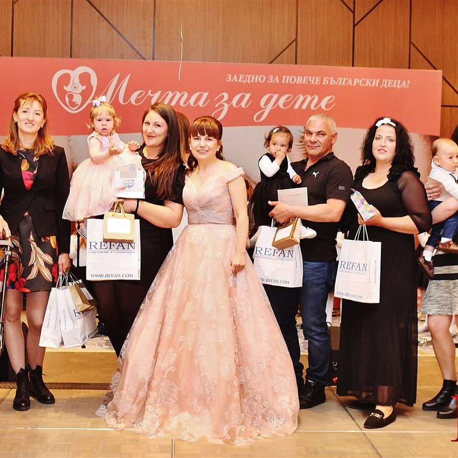 """Благотворителен пролетен бал """"Роди дете в България"""" събра рекордната сума от 21 410 лв."""
